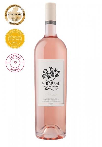 Mirabeau Classic Côtes de Provence Rosé 2019 Magnum (1,5 L)