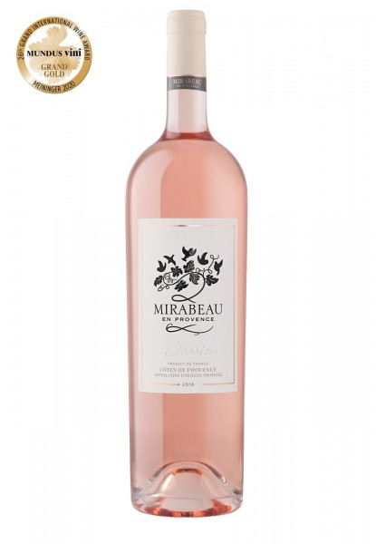 Mirabeau Classic Côtes de Provence Rosé 2020 Magnum (1,5 L)